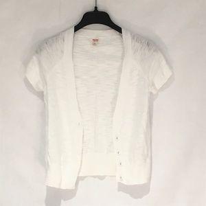 Mossimo short sleeve cardigan sweater